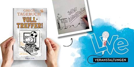 MITMACHAKTION: Gregs Tagebuch Zeichenkurs Tickets