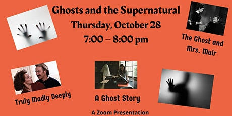Ghosts and the Supernatural tickets