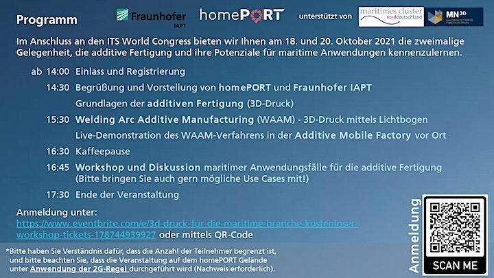 3D-Druck für die maritime Branche - Kostenloser Workshop image
