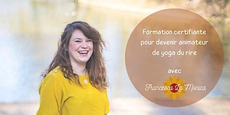 Copie de Formation certifiante pour devenir animateur de yoga du rire billets
