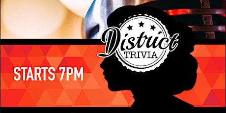 PUB GAME: District Trivia tickets