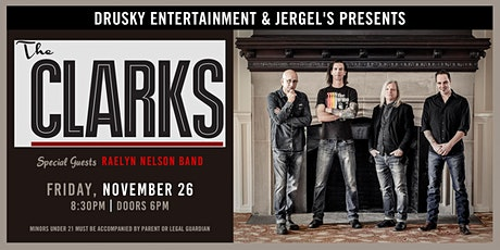 The Clarks tickets