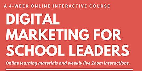 Digital Marketing for Schools - 2nd Edition tickets