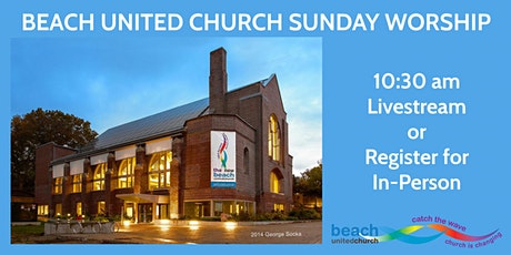 Sunday Worship at Beach United: Online and In-Person tickets