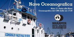 Sharper | Nave Oceanografica Molo 17