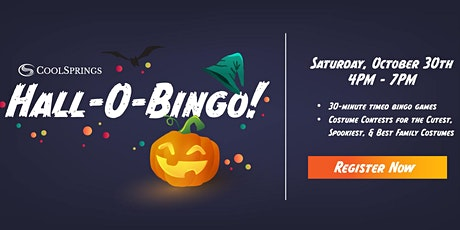 Cool Springs Hall-O-Bingo tickets