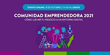 Día de la Comunidad Emprendedora 2021 entradas