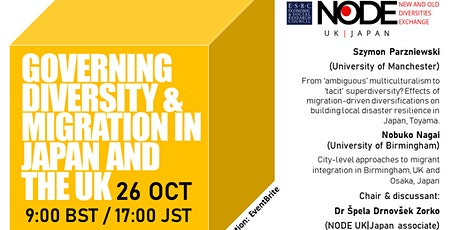 Governing Diversity and Migration in Japan and the UK tickets