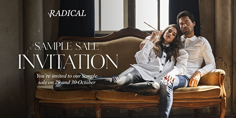 Radical Sample Sale | Sale up to 70% tickets