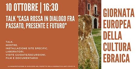 TALK per la Giornata Europea della Cultura Ebraica 2021- Alberobello biglietti