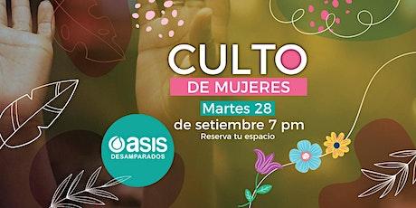 Culto de Mujeres | 28 de Septiembre entradas