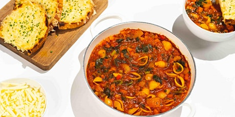 Autumn Minestrone & Cheesy Toasts: FREE Virtual Cooking Class tickets