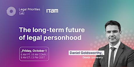 Daniel Goldsworthy: The long-term future of legal personhood tickets