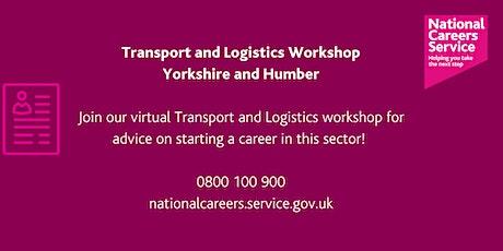 Transport and Logistics Workshop - Yorkshire & Humber tickets