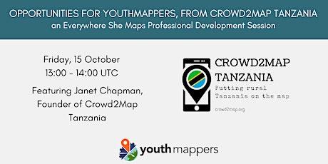 Volunteer Opportunities with Crowd2Map & Tanzania Development Trust tickets