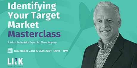 Identifying Your Target Market Masterclass tickets