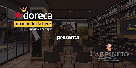 Doreca presenta Carpineto biglietti