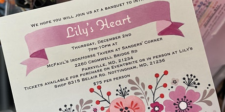 Lily's Heart Introductory Banquet Benefit tickets
