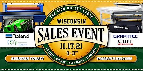 Wisconsin Sales Event tickets