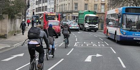 Cyclox Public meeting - Chris Goodall - Oxford's transport future tickets