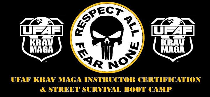 UFAF KRAV MAGA INSTRUCTOR CERTIFICATION & KRAV MAGA BOOT-CAMP (FLORIDA USA) image