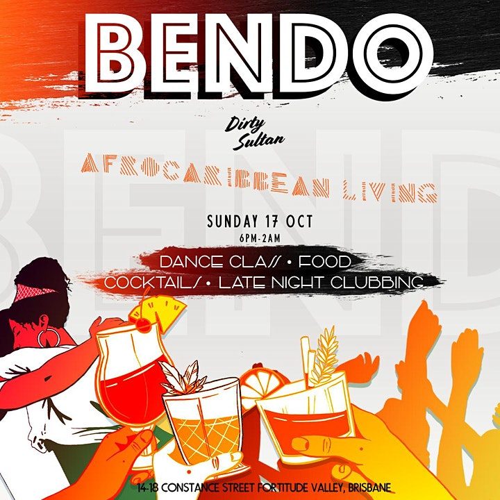 Afro Caribbean Dance Class -  Sunday Rooftop  - Brisbane image