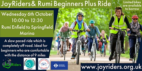 Beginners Plus  Rumiؒ  Mosque  Enfield to Springfield Marina tickets