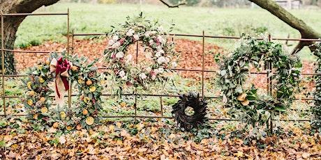 Wreath Making Workshop Christmas 2021 tickets