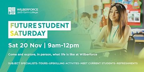 Future Student Saturday - 20 Nov tickets