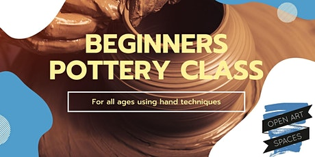 Beginners Pottery Workshop with Ancient Hand-Built Techniques tickets