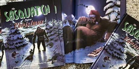 The Sasquatch Before Christmas Signing with Nathan Lee and James Allen tickets