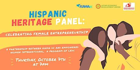 Hispanic Heritage Month: Celebrating Female Entrepreneurship tickets