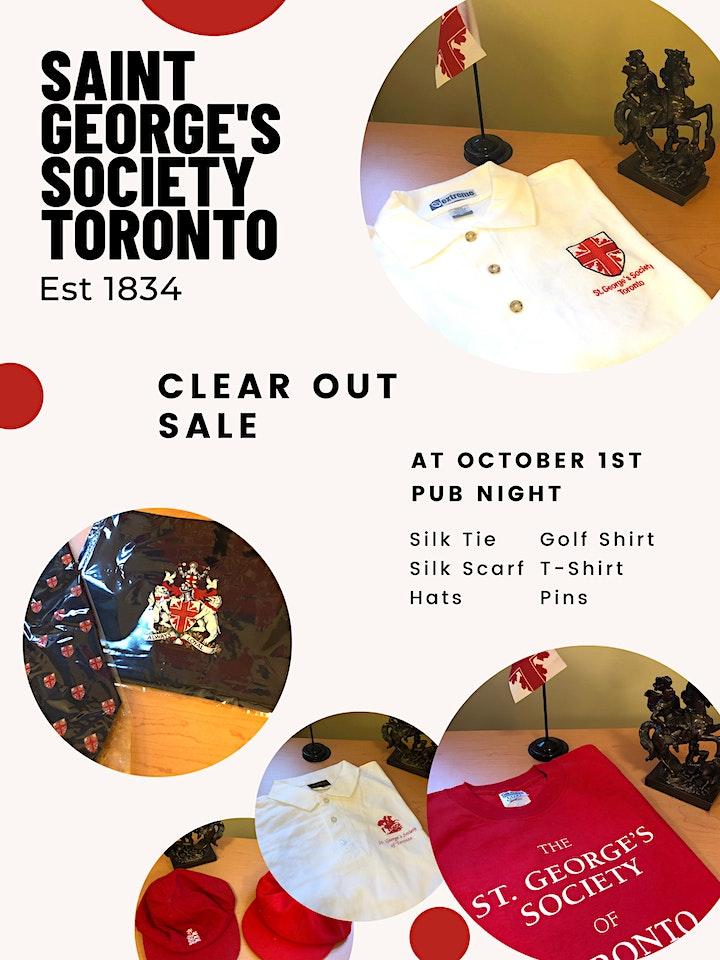 St. George's Society Toronto Pub Night image