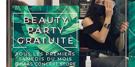 Beauty Party Gratuite tickets