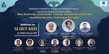 Blue Economy, UDA  and Maritime Security Challenges for India tickets