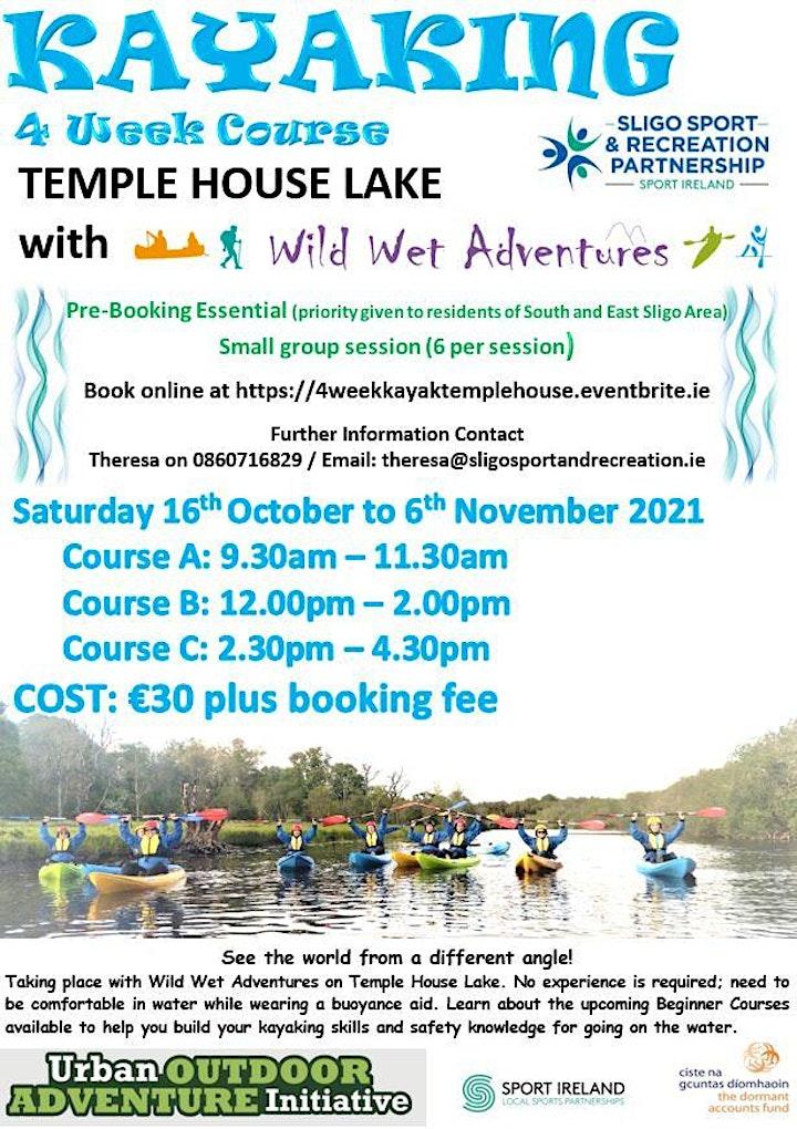 4 week Kayaking Course at Temple House image
