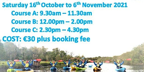 4 week Kayaking Course at Temple House tickets