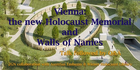 Vienna: The New Holocaust Memorial and Walls of Names - Talk and Q&A tickets