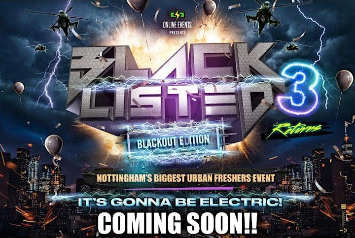 BLACKLISTED III - Nottingham's Biggest Urban Event image