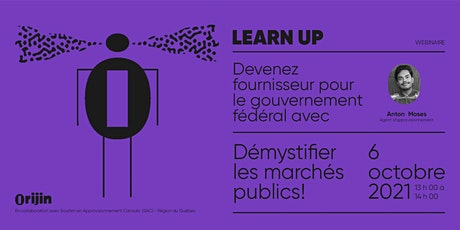 LearnUP Webinaire  - Démystifier les marchés publics ! billets