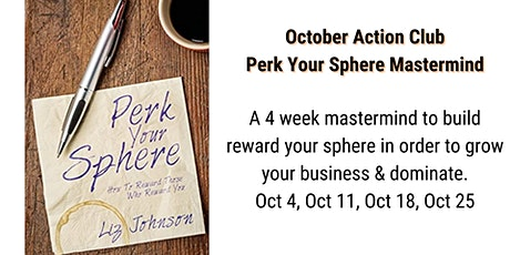 Perk Your Sphere: Build your Real Estate Business Through Referrals tickets