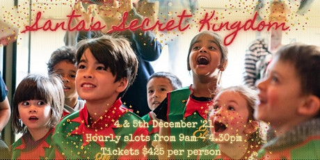 Santa's Secret Kingdom: HELP! billets