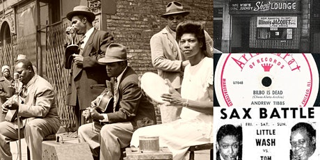 'History of Jazz in Chicago, Part V: Jump Time' Webinar tickets