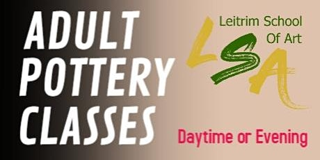 Adult Pottery Class, Daytime, Fridays11am-1pm,Oct 22,29 & Nov 5 &12 tickets