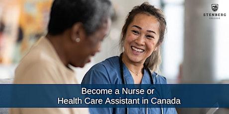 Philippines: Become a Nurse/HCA in Canada – Free Webinar: October 30, 10 am tickets