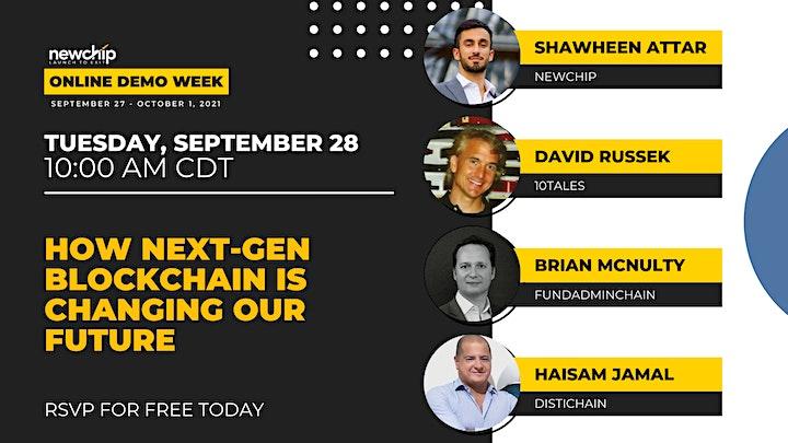 Newchip's September 2021 Online Demo Week image