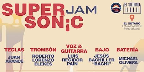 SUPERSONIC JAM (TODOS LOS MIERCOLES) - OCTUBRE entradas