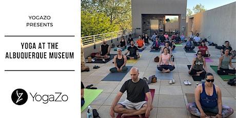 Yoga at the Albuquerque Museum tickets