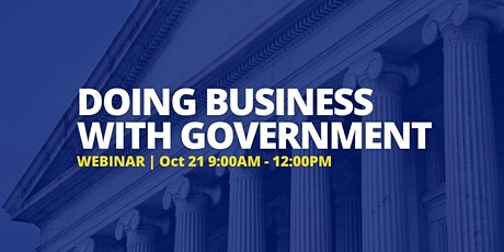 MBEC Webinar: Doing Business with Government tickets