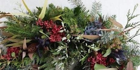 Luxury Wreath Making Workshop - Morning tickets